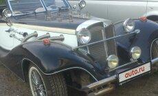 Video: Paštaisīts 'Mercedes' rodsters ar žiguļa agregātiem par 25 tūkstošiem eiro
