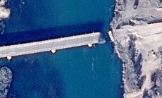 Gaisa triecienos sagrauts pēdējais Mosulas tilts