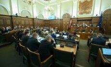 Saeima pieņem strīdīgos grozījumus, kas attiecas uz mazākuma akcionāru tiesībām