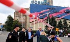 Krieviju pāršalc spridzekļa draudu vilnis; evakuē tūkstošiem cilvēku
