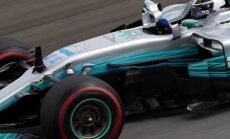 Vicečempiona titula pretendents Botass uzvar sezonas pēdējā F-1 posma kvalifikācijā