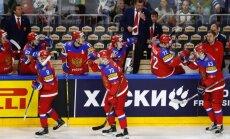 Video: Znaroka un Vītoliņa trenētā Krievija ceturto gadu pēc kārtas izcīna PČ medaļu