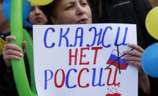 Krimā notiek referendums par pievienošanos Krievijai