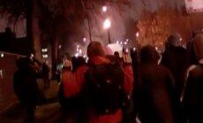 Video: ASV arestē ap 150 protestētāju