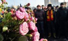 Sadursmes saasinās ārpus Kijevas; ievainoto skaits aug (teksta tiešraides arhīvs)