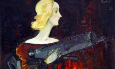 100 dārgumu mākslas muzejā: Padega 'Madonna ar ložmetēju'