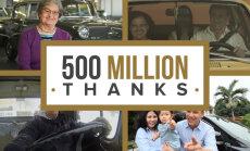 Video: 'General Motors' pateicas klientiem par 500 miljonu auto iegādi