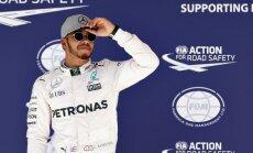 F-1 komandu vadītāji par labāko sezonas pilotu nosauc Hamiltonu