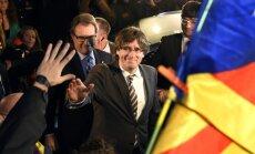 Par Katalonijas neatkarību balsojuši 90%, liecina galīgie rezultāti