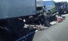 В трагическом ДТП на трассе Рига — Лиепая погиб водитель