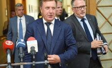 Koalīcijas politiķi kritiski par 'oligarhu lietas' parlamentārās izmeklēšanas komisijas paveikto