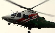Augstie ciemiņi: virs Rīgas riņķojošais helikopters intriģē lasītāju