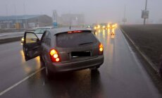Trešdien Rīgā pie auto stūres miris vīrietis