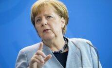 'Nord Stream 2' projekts nav realizējams bez Ukrainas iesaistīšanās tajā, uzsver Merkele