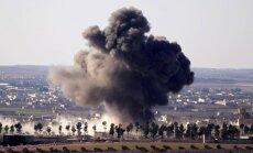 Karte: Turki Bābā ļaušot ieiet Sīrijas režīma spēkiem