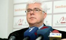 LOK prezidents Vrubļevskis kritizē politiķus par nevērīgu attieksmi pret sportu