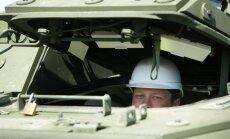 Kazarmu rekonstrukcijas dēļ daļai NATO karavīru līdz rudenim būs jādzīvo teltīs