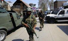 Foto: Sadursmēs Kašmirā nogalināti 20 cilvēki un ievainoti vēl vismaz 70