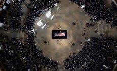 ФОТО: В Вашингтоне прошла поминальная служба по сенатору Джону Маккейну