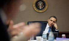 Obama: Krievijas attieksme pret kaimiņiem ir 'vājuma pazīme'