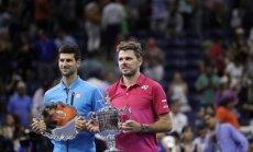 Vavrinka pārsteidz Džokoviču un izcīna ASV atklātā čempionāta titulu