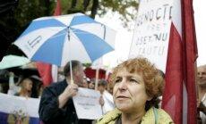 Ukraiņu kongresu sadusmo Ždanokas aktivitātes; Brokai prasa aizliegt Latvijas Krievu savienības darbību