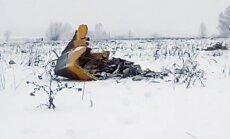 Lidmašīnas AN-148 avāriju izraisījusi sensoru apledošana