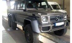 Latvijā reģistrēts 774 tūkstošus eiro vērts sešriteņu 'Mercedes' apvidnieks