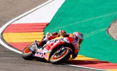 Markess uzvar Aragonā un palielina savu pārsvaru 'MotoGP' kopvērtējumā