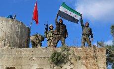 ASV un Turcija veidos mehānismus, lai turpmāk Sīrijā strādātu kopā