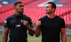Anthony Joshua, Wladimir Klitschko, Wembley Stadium