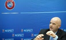 Krimas futbola klubiem aizliegts turpmāk piedalīties Krievijas čempionātā