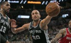 'Spurs' nenotur pārsvaru un zaudē 'Clippers'