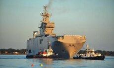 ASV vairākkārt lūgusi Francijai atlikt karakuģu 'Mistral' pārdošanu Krievijai