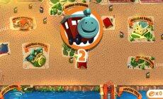 Kuldīga izveidojusi pilsētas spēli, kur ar virtuālu vilcieniņu vizināt pasažierus