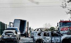 Francijā laupītāji uz lielceļa no apsardzes auto nozog 70 kilogramus zelta