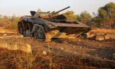 Gandrīz puse krievu bažījas par Sīrijas konflikta pāraugšanu pasaules karā