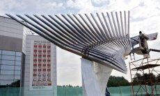 Jaroslavļā uzstādīts piemineklis 'Lokomotiv' piemiņai