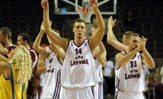 Latvijas basketbolisti ar grūtībām nosargā uzvaru Nīderlandē