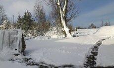 ФОТО: в Литве наступила снежная Пасха