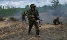 NATO ātrās reaģēšanas vienības Baltijā var ierasties 'zibensātri'