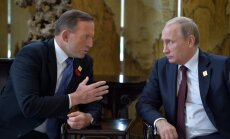 Austrālijas premjers aicina Putinu atvainoties par MH17 notriekšanu un izmaksāt kompensācijas