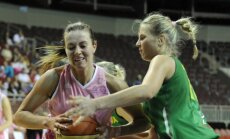 Latvijas sieviešu basketbola izlase pārbaudes spēlē zaudē Lietuvai