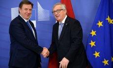 Cīņa par Junkera plāna miljoniem: Igaunija pirmā, Latvija vēl gaida