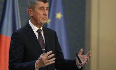 Babišs pieļauj pirmstermiņa vēlēšanu rīkošanu Čehijā