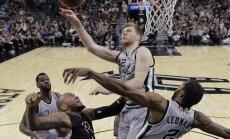 Bertāns vēlreiz paliek bez punktiem, 'Spurs' piedzīvo otro neveiksmi sezonā