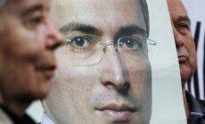 Krievijā gaidāma revolūcija, uzskata Hodorkovskis