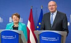 EK divu nedēļu laikā izskatīs iespējamos atbalsta piedāvājumus Latvijas piensaimniekiem, sola komisārs