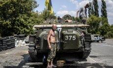 Daļa Ukrainas 72. motorizētās brigādes pēc kaujas atkāpusies uz Krieviju