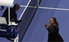 Serēnas Viljamsas trādirīdis 'US Open' liek tenisa tiesnešiem domāt par arodbiedrības izveidošanu